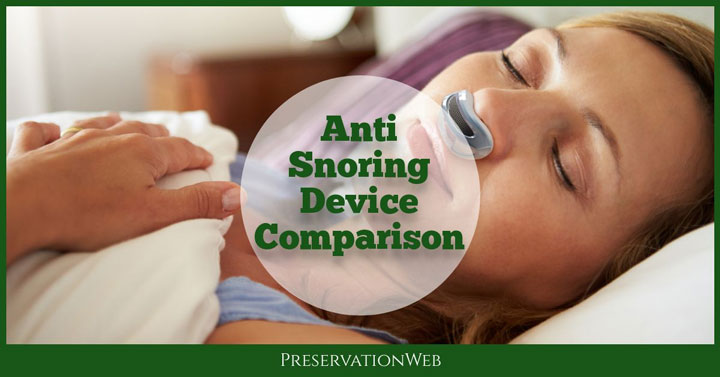 Anti Snoring Device Comparison Chart